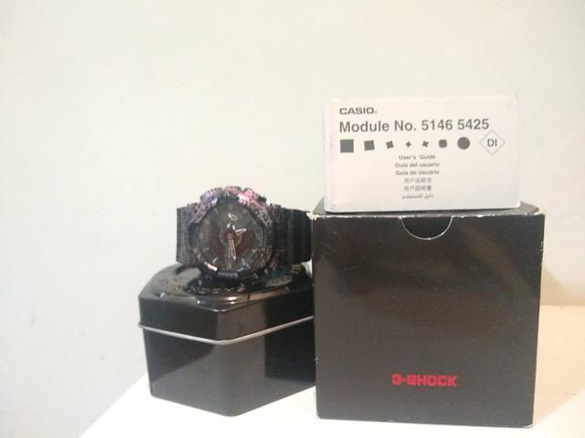 Relógio Casio G-schock Ga110-pm polarized maple series