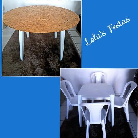 Locação de Mesas e Cadeiras -9 9654 - x4471