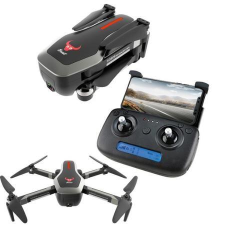 Drone Sg906 Gps 5G Wifi Fpv Com Selfie Dobrável Camera 4k Brushless 25 Minutos de Voo
