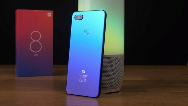 Mi 8 Lite 64GB Azul ou preto (Lacrado/Garantia e Nota)