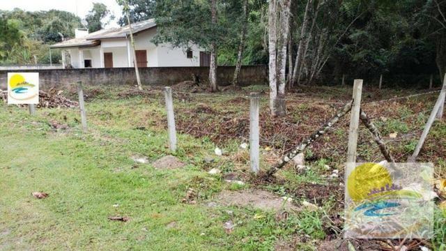 Terreno na avenida asfaltada no Balneário Itamar em Itapoá-SC TE0667 - Foto 2