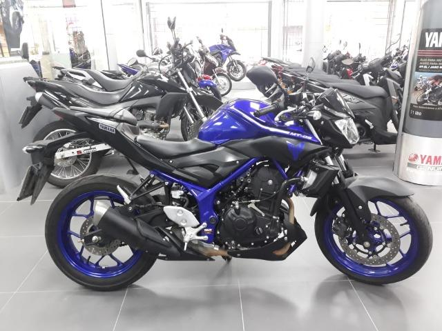 MT 03 Azul 2018 / linda moto , semi nova na Yamaha de Sapiranga, consulte!
