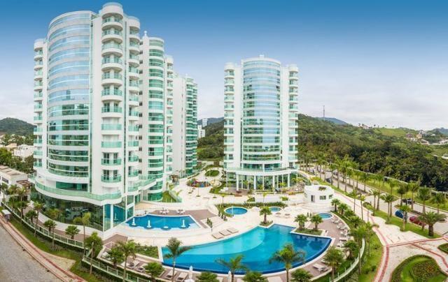 Apartamento Semi Mobiliado no Brava Beach, 4 suites 3 vagas, praia brava Itajai!