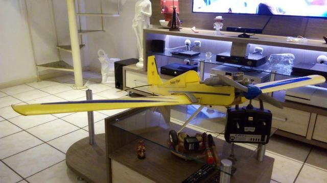 Aeromodelo Acrobático Asa Baixa Artal Completo