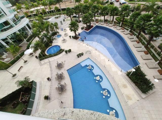 Apartamento Semi Mobiliado no Brava Beach, 4 suites 3 vagas, praia brava Itajai! - Foto 20