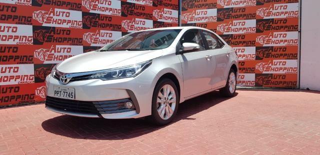 Toyota Corolla XEi automático promocao troco por moto - Foto 2