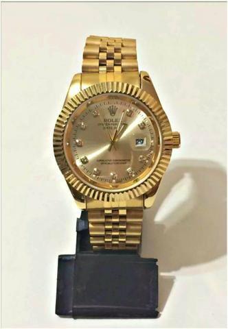 e1244ed5ddf Relógio Rolex Datejust presidente Unissex Novo Frete grátis ...