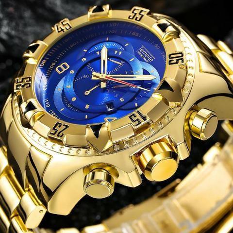 024b246a08b Relógio De Luxo Temeite Reserve Original - Bijouterias