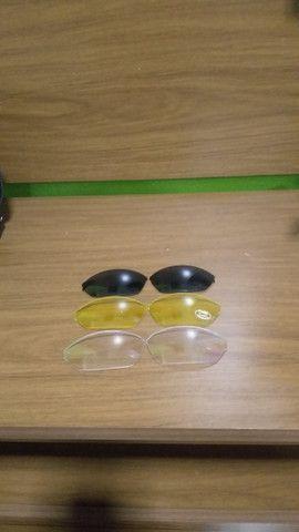 Kit óculos + 3 lentes esportivas Disix - Foto 6