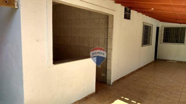 Casa 02 dormitórios e/ou salão comercial, locação, R$ 900,00 cada, Cosmópolis, SP - Foto 2