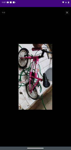 bicicleta para criança conservada vendendo pq tá parada aqui