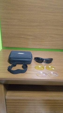 Kit óculos + 3 lentes esportivas Disix