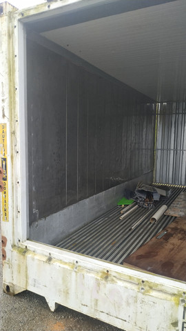 Piso canaleta do alumínio container reefer frigorifico
