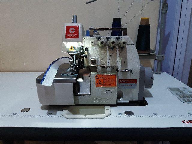 Máquina Industrial Overlook DirectDrive Gemsy GEM 7703D - Foto 5