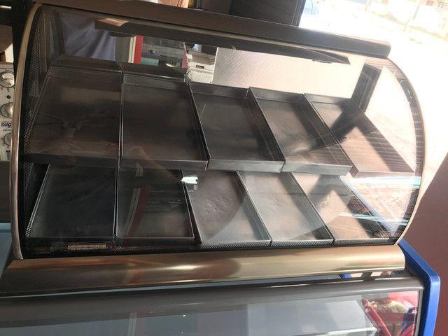 Estufa omega vidro curvo 10 bandeijas - Foto 2