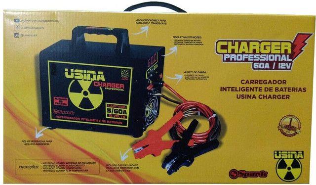 Carregador De Bateria Charger Profissional Usina Spark (60 amp / 12v) - Caruaru (PE) - Foto 6