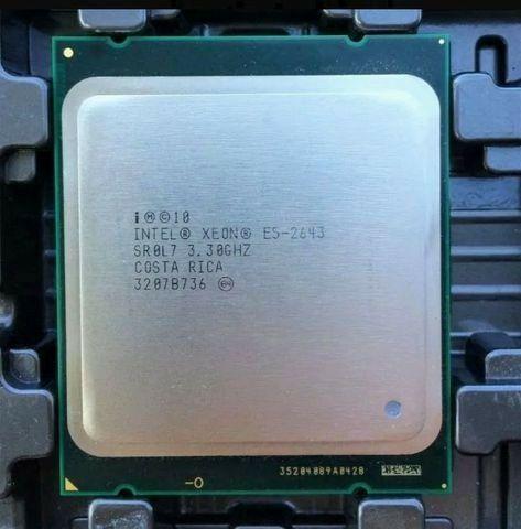 Processador xeon E5 2643 lga 2011