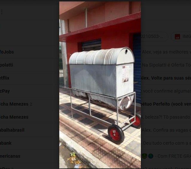 Churrasqueira para Galeto - Assa 30 galetos de vez  - Foto 2