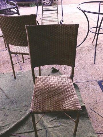 Reforma de cadeira de fibra sintética - Foto 4