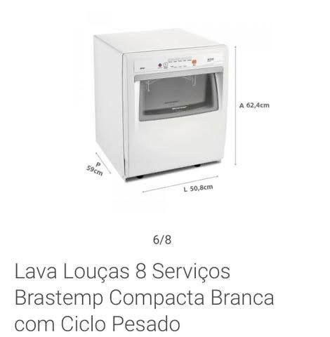 Lava-louça Brastemp Active 8 serviços - Foto 6