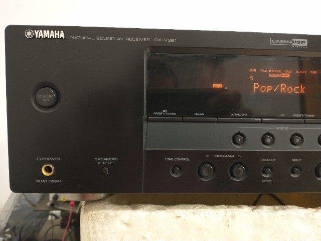 Receiver - Yamaha Rx-v361 (audio/video) - Foto 5