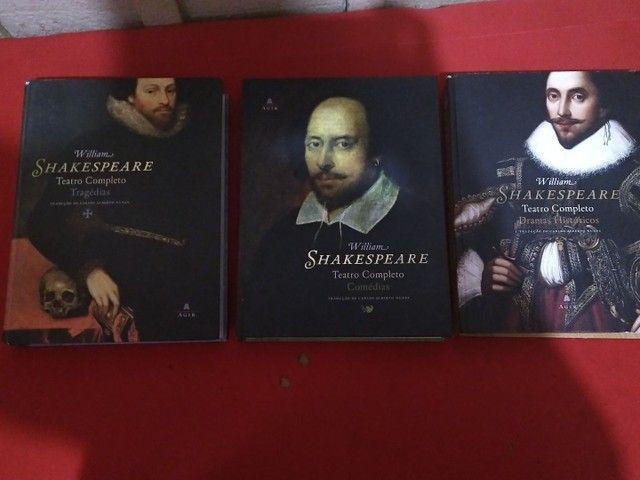Coleção livros William Shakespeare