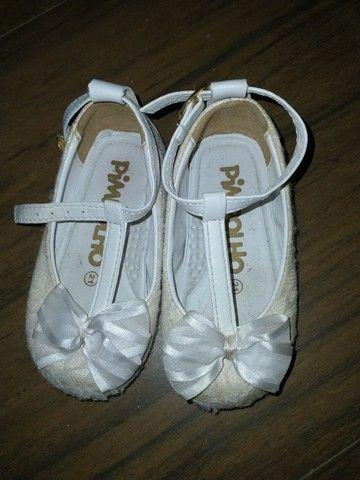 Sapatos menina 1, 2 anos - sandálias, botas, tênis - Foto 3