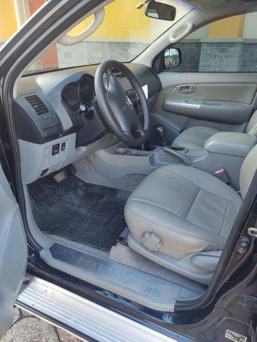 Toyota Hilux 4x4 Diesel automática SRV - Foto 10
