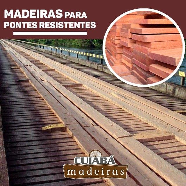 Madeiras/lascas/tábua/viga/Deck/Pergolado/assoalho/palanque/compensados/itauba - Foto 2