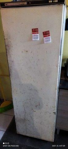 Freezer vertical Prosdócimo 260 super luxo com detalhes na estética