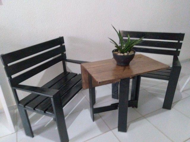 Conjunto de cadeiras +mesa - Foto 3