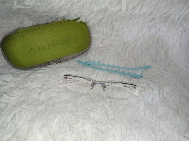 Armação de óculos feminina