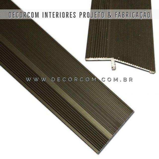 Perfil Piso Laminado Carpet Cerâmica  - Foto 2