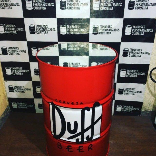 Tambor Personalizado Duff com espelho!! - Foto 4