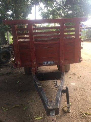 Carroça para trator  - Foto 2