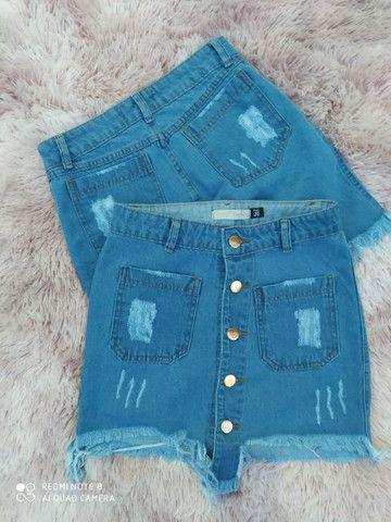 Jeans 100% algodao - Foto 3