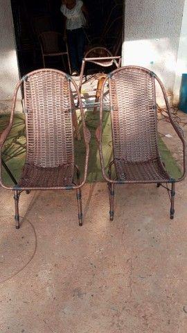 Reforma de cadeira de fibra sintética