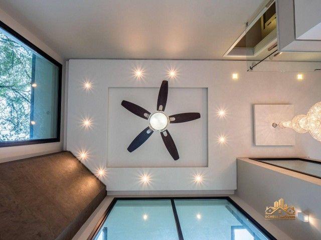 SCHELL IMÓVEIS vende, casa com 3 dormitórios (sendo 2 suítes), 348m² por R$ 3.300.000 - Ma - Foto 12