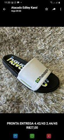 Sandalias slide a pronta entrega - Foto 5