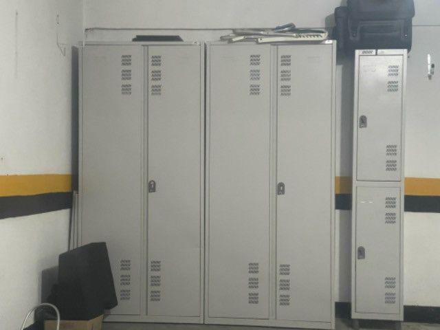 3 armarios de aço - Foto 2