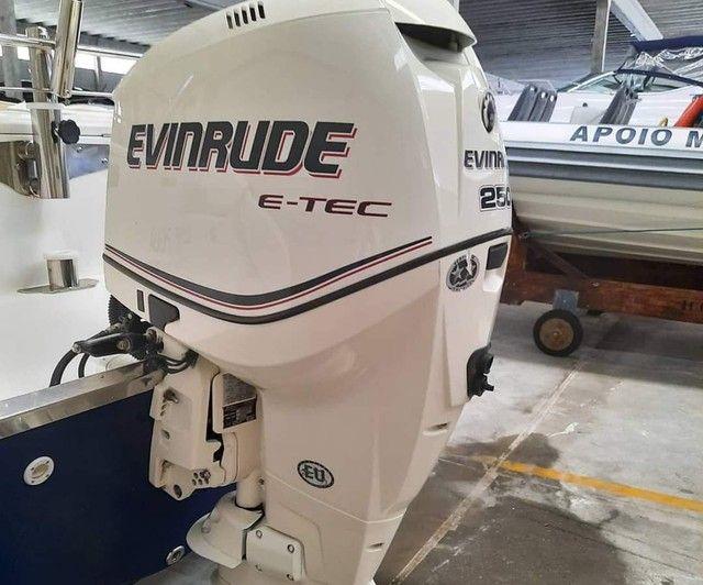 Fishing 265 Ano 2013 x1 Evinrude E-TEC 250 HP não Victor Fishirmam Casbrasmar  - Foto 6