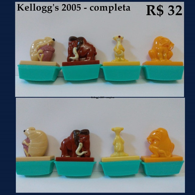Coleções Nestlé Kellogg's Parmalat brinquedos - Foto 4