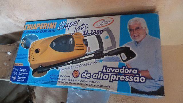Lava jato de alta pressão na caixa