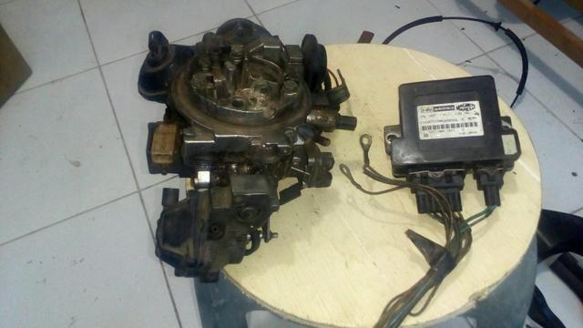 Carburador com central do escort europeu