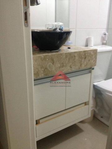 Apartamento com 2 dormitórios à venda, 49 m² por r$ 173.000 - vila tesouro - são josé dos  - Foto 2