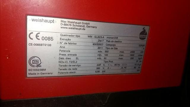Caldeira à Gás Glp Gnv ou Óleo 1250kw - #3362 - Foto 6