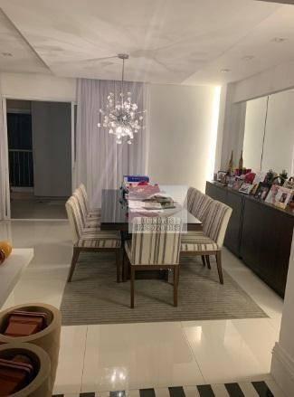 Apartamento com 3 dormitórios à venda, 158 m² por r$ 830.000 - jardim das indústrias - são