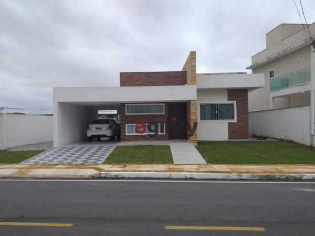 Casa com 3 dormitórios à venda, 234 m² por r$ 495.000,00 - parque das nações - parnamirim/