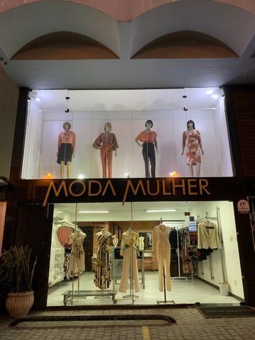 Vendo linda loja de roupas feminina no centro