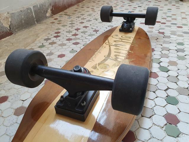 Skate Longboard para carving